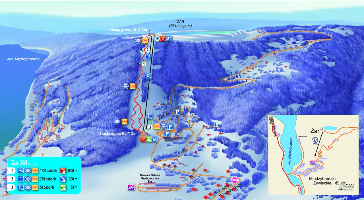 Ischgl ski map