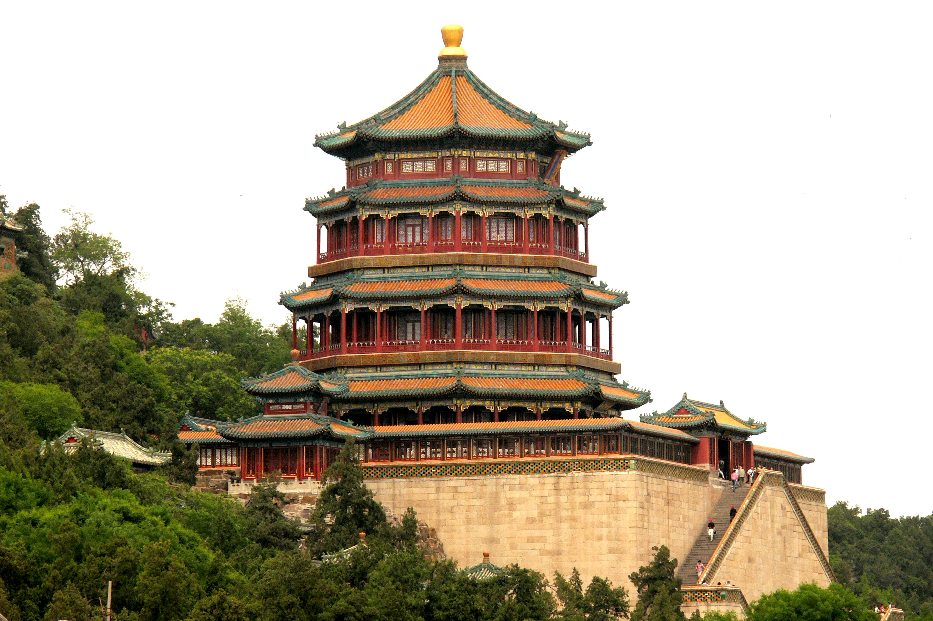 Summer Palace Tower of the Fragrance of the Budda