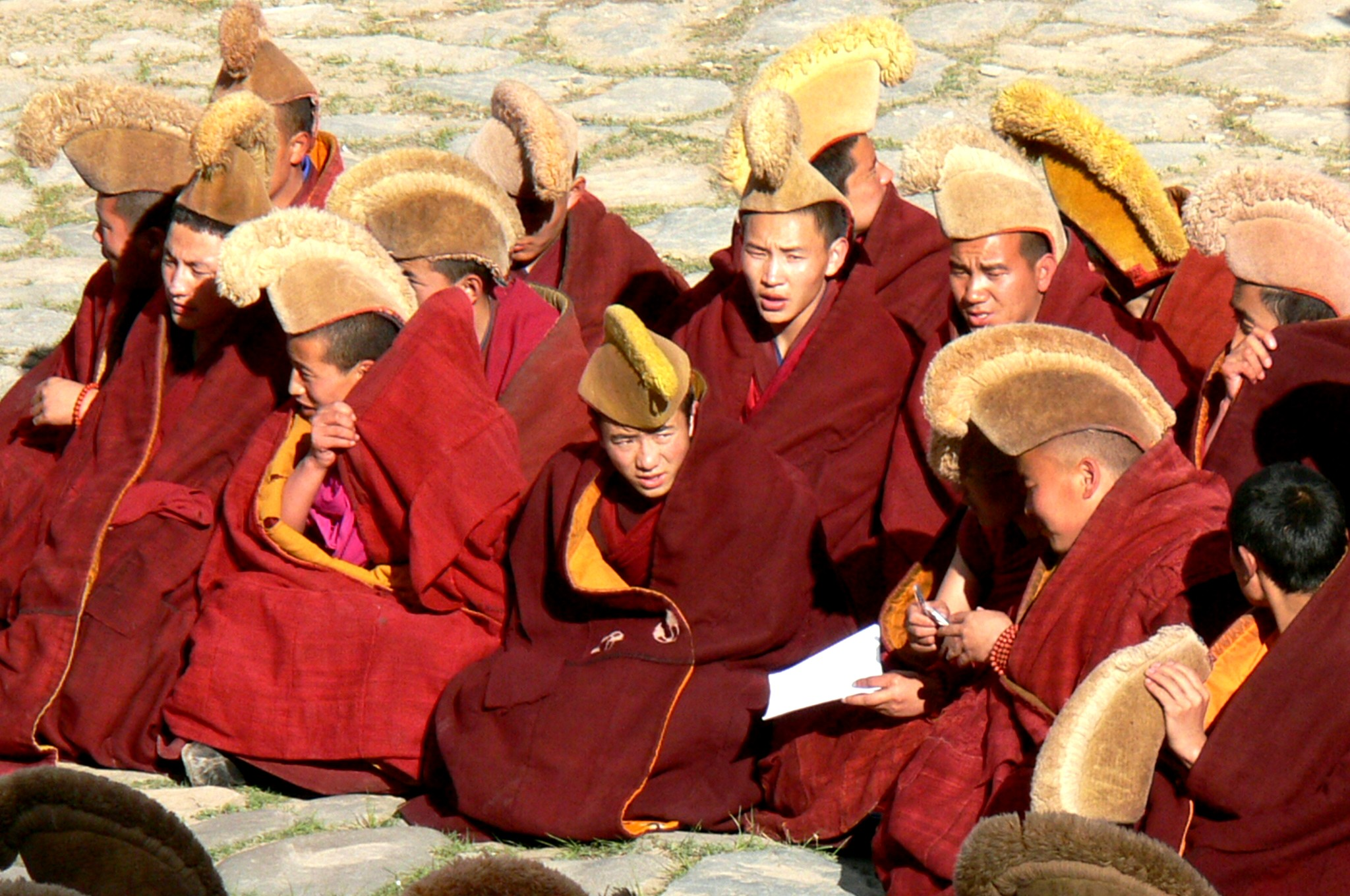 Xiahe Yellow Hats monks
