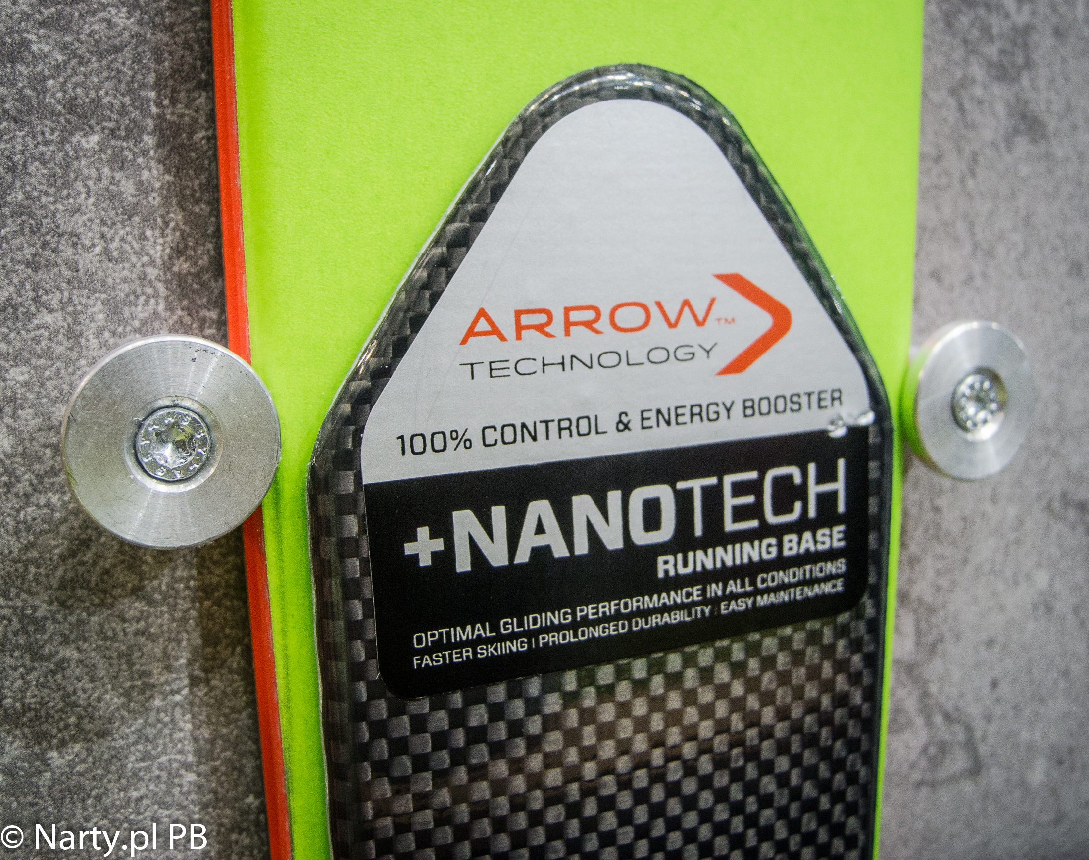Narty elan 2018/2019 technologia ARROW i ślizg +NANOTECH